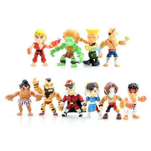 Street Fighter 3-Inch Series 1 Mini-Figure 4-Pack