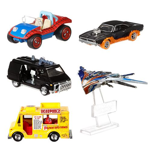 Hot Wheels Retro Entertainment 2018 Mix 3 Vehicle Case