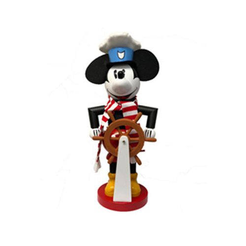 Mickey Mouse Steamboat Willie 15-Inch Nutcracker