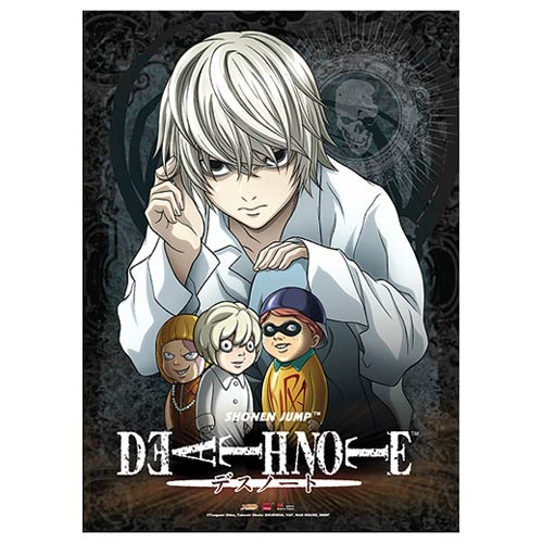 Death Note Near and Puppet Wall Scroll