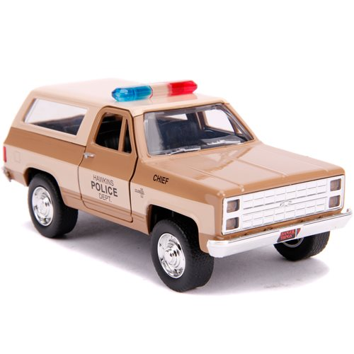 Hollywood Rides Stranger Things 1980 Chevy K5 Blazer 1:32 Scale Die-Cast Metal Vehicle