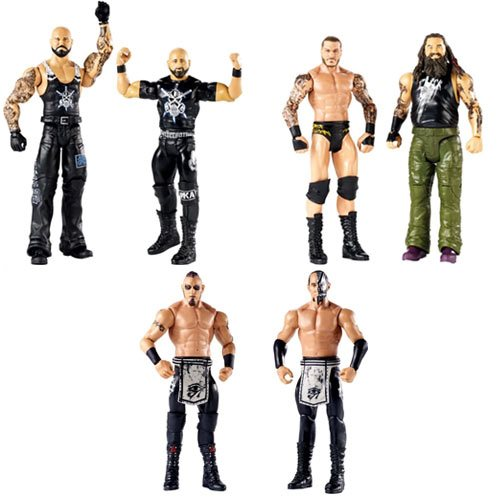 WWE Basic 2-Pack Series 50 Action Figure Set