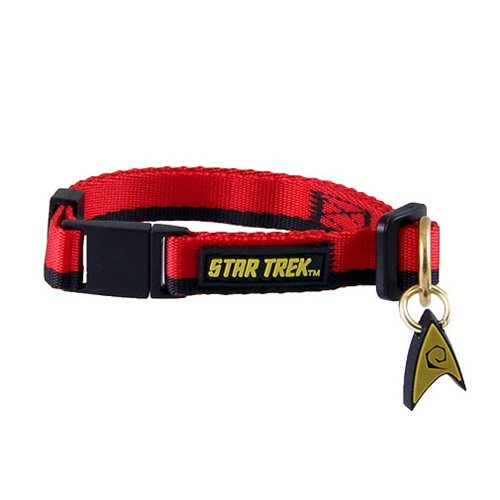 Star Trek: The Original Series Red Uniform Cat Collar