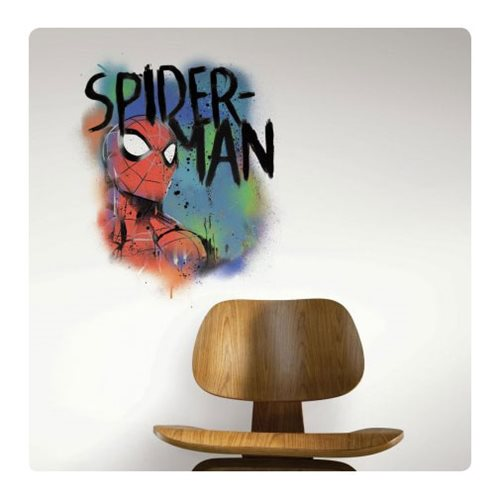 Spider-Man Classic Graffiti Burst Peel and Stick Giant Wall Decals