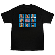 The Brady Bunch Cast Squares T-Shirt