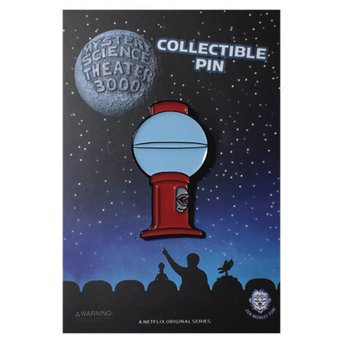 Mystery Science Theater 3000 Tom Servo Lapel Pin