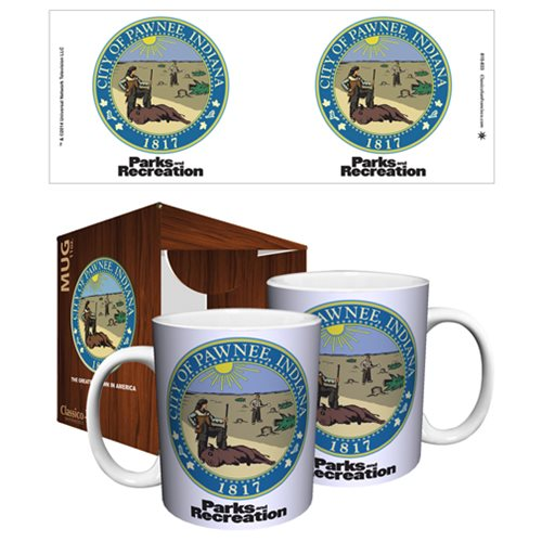 Parks and Recreation Pawnee Seal 11 oz. Mug