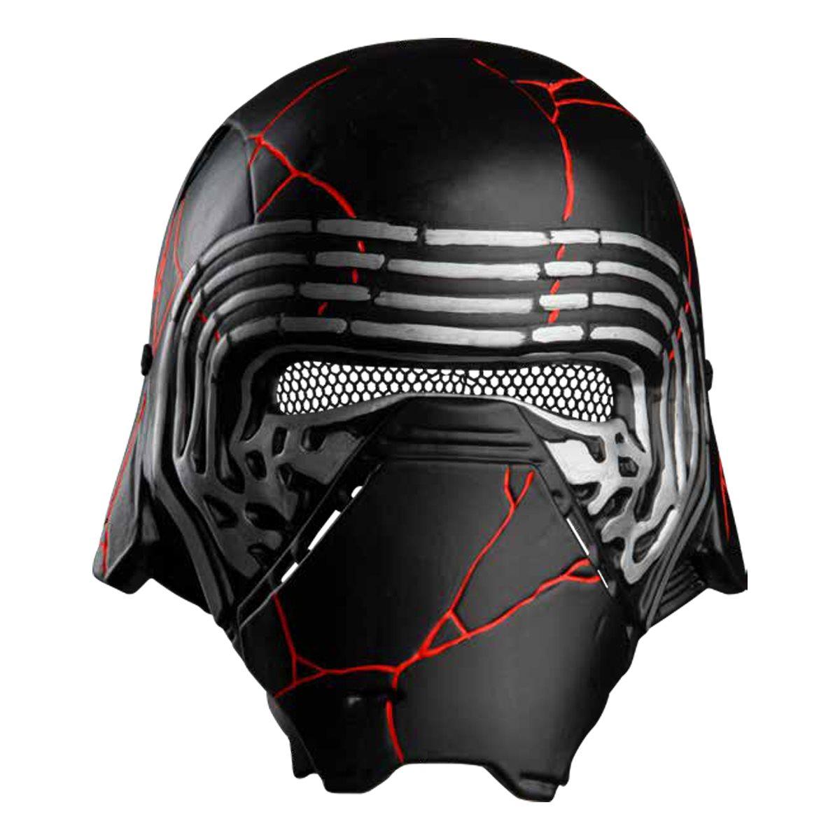 Star Wars The Rise Of Skywalker Kylo Ren Child Half Mask Entertainment Earth