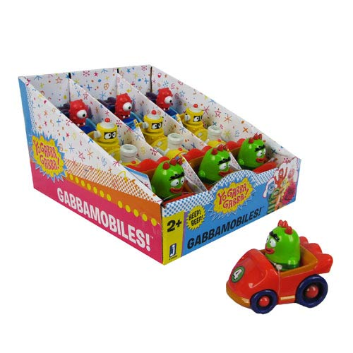 Yo Gabba Gabba 4-Inch Vehicle Case