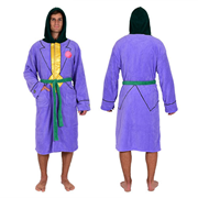 DC Comics Batman Joker Jacket Hooded Fleece Bathrobe