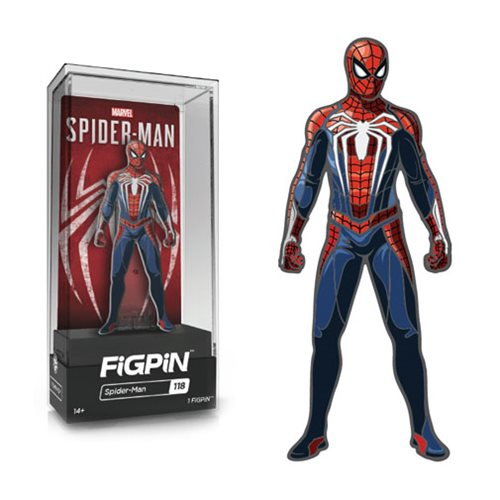 Spider-Man Video Game Spider-Man FiGPiN Enamel Pin