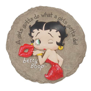 Betty Boop Girl's Gotta Do Stepping Stone