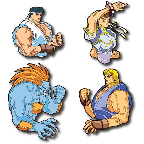 Street Fighter II Champion Edition Volume 3 Pin Book Set