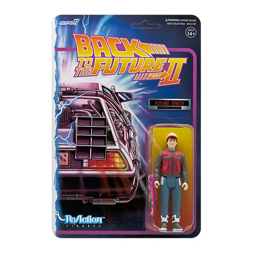 Back to the Future Marty McFly Future 3 3/4-Inch ReAction Figure