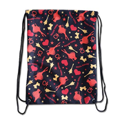 Sailor Moon Sailor Venus Pattern Drawstring Bag