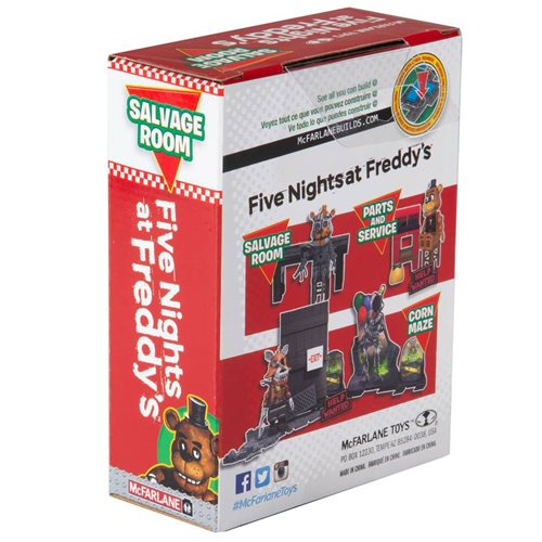 Five Nights at Freddy's Series 6 Salvage Room Micro Construction Set