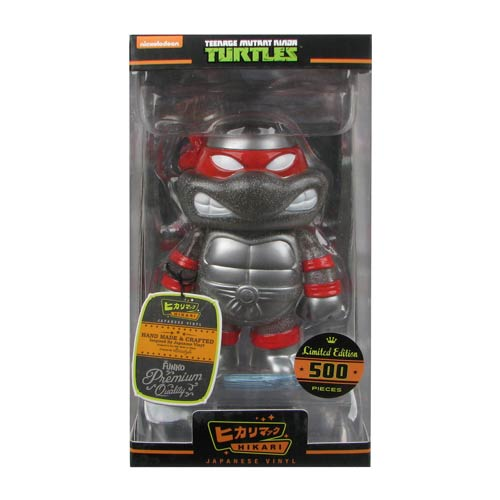 Teenage Mutant Ninja Turtles Silver Glitter Hikari Sofubi Vinyl Figure