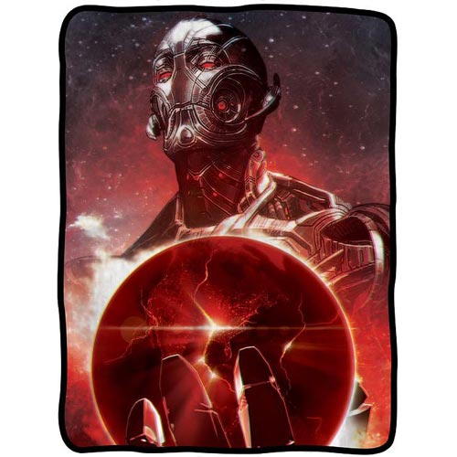 Avengers: Age Of Ultron Red Earth Fleece Throw Blanket