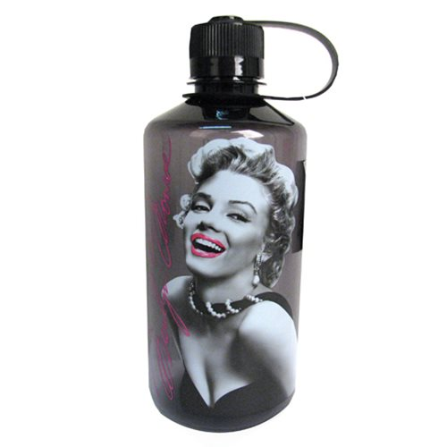Marilyn Monroe Rose Lips 1 Liter Plastic Water Bottle