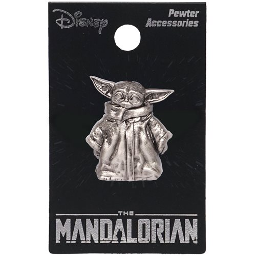 Star Wars: The Mandalorian The Child Figural Pewter Lapel Pin