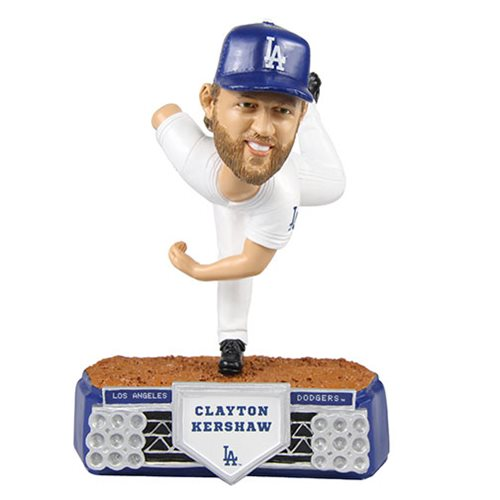 MLB Los Angeles Dodgers Clayton Kershaw Stadium Lights Bobble Head