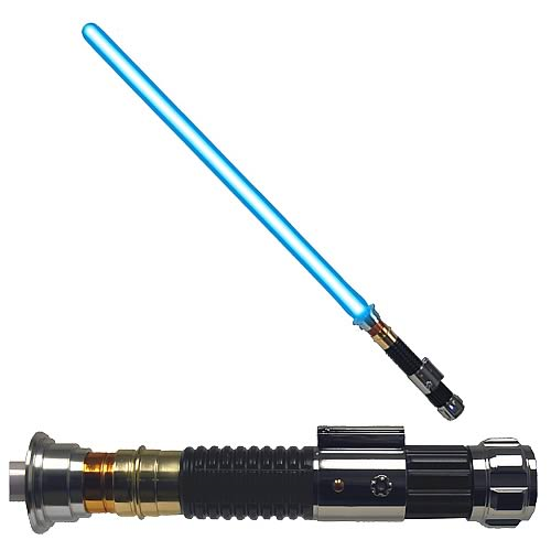 Star Wars Episode III Obi-Wan Kenobi Lightsaber FX