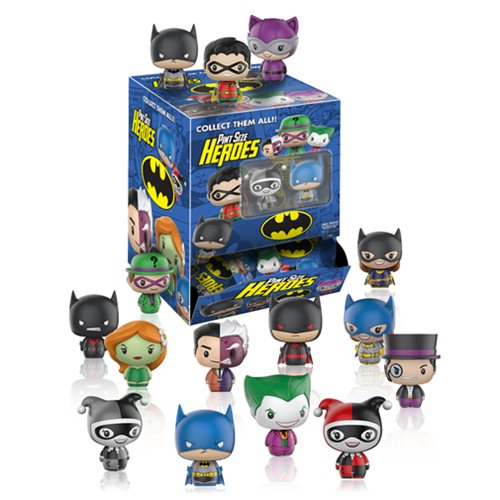 DC Comics Pint Size Heroes Mini-Figure Random 6-Pack