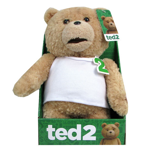 Ted 2 Ted Tank Top 11-Inch R-Rated Talking Plush