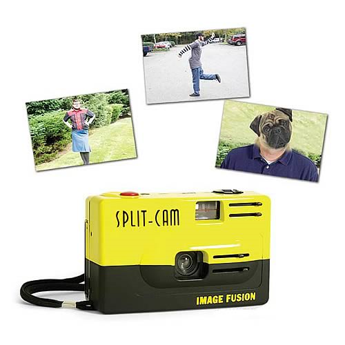 Split-Cam Novelty Camera