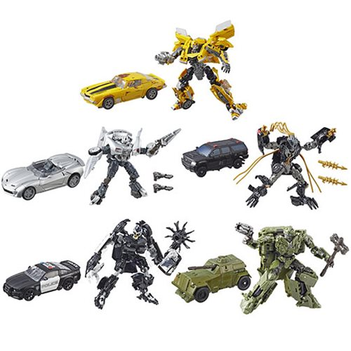 Transformers Studio Series Premier Deluxe Wave 5 Case
