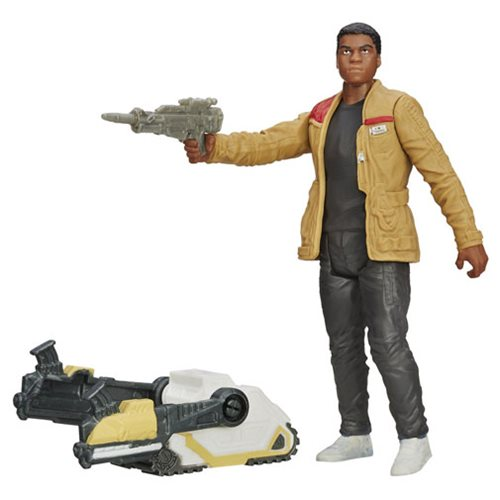 Star Wars: The Force Awakens Finn (Jakku) Figure, Not Mint