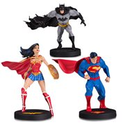 DC Designer Series Superman, Batman and Wonder Woman by Jim Lee Statue 3-Pack Set