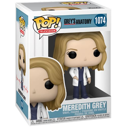 Grey's Anatomy Meredith Grey Pop! Vinyl Figure