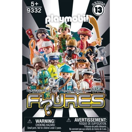 Playmobil 9332 Mystery Figures Boys Series 13 Case