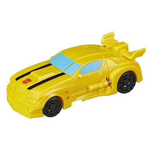 Transformers Cyberverse Action Attackers 1-Step Changer Bumblebee