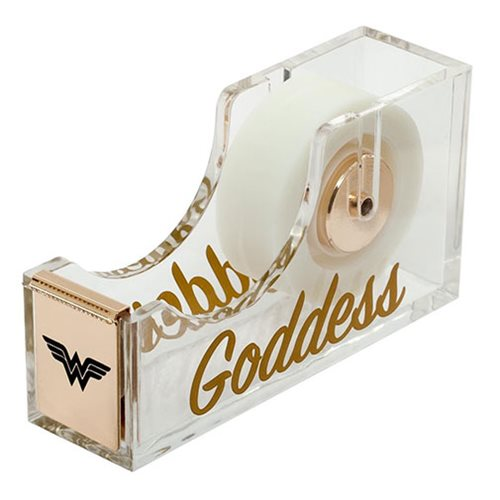 Wonder Woman Acrylic Tape Dispenser