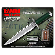 Rambo First Blood Sylvester Stallone Edition Knife Prop Replica