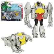 Transformers Robots in Disguise One-Step Changers Gold Armor Grimlock