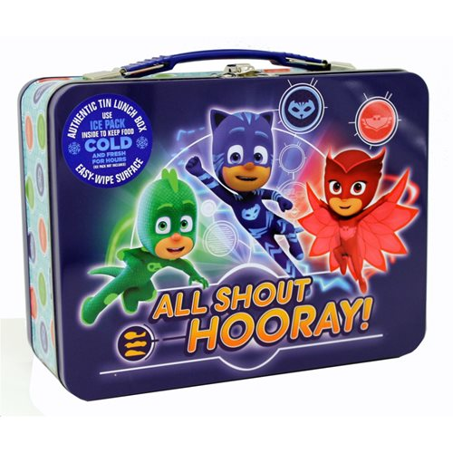 PJ Masks Tin Lunch Box