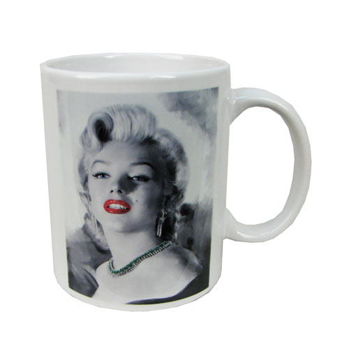 Marilyn Monroe Red Lips 20 oz. Coffee Mug