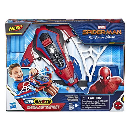 Spider-Man: Far From Home Web Shots Spiderbolt NERF Powered Blaster