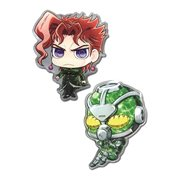 JoJo's Bizarre Adventure: Stardust Crusaders Kakyoin and Hierophant Green Pin Set
