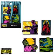 Universal Monsters 4-Piece Pin Set - Entertainment Earth Exclusive