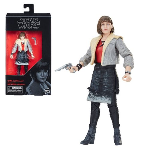 Star Wars The Black Series Qi'ra 6-Inch Action Figure, Not Mint