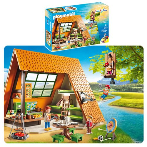 Playmobil 9152 Camping Lodge Playsets