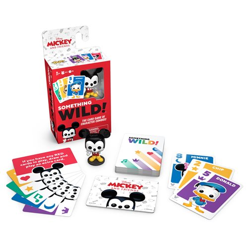 Mickey and Friends Something Wild Pop! Card Game - English Edition