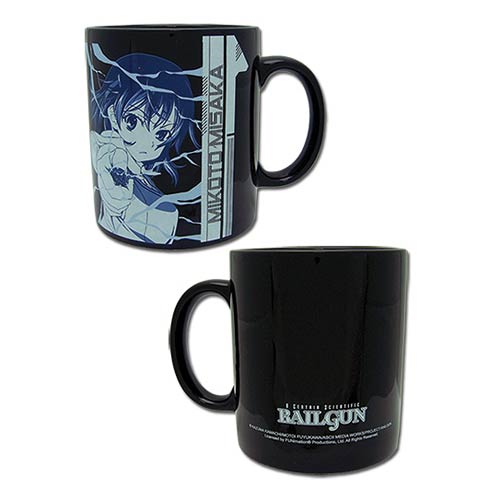 A Certain Scientific Railgun Mikoto Mug