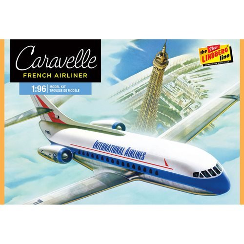 Caravelle Airliner 1:96 Scale Model Kit