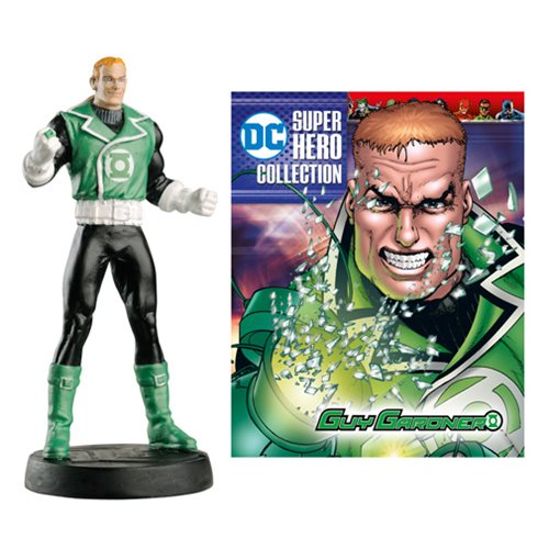 DC Superhero Best Of Guy Gardner Figure with Collector Magazine #44