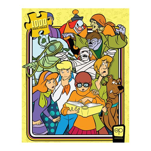 Scooby-Doo Those Meddling Kids! 1,000-Piece Puzzle